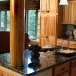 Moderne LED-Beleuchtung für die Küchenarbeitsplatte