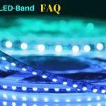 Verarbeitung von LED-Streifen, Strips & Bänder