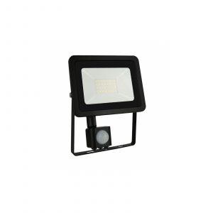 LED Fluter 30W mit Bewegungsmelder schwarz Spectrum