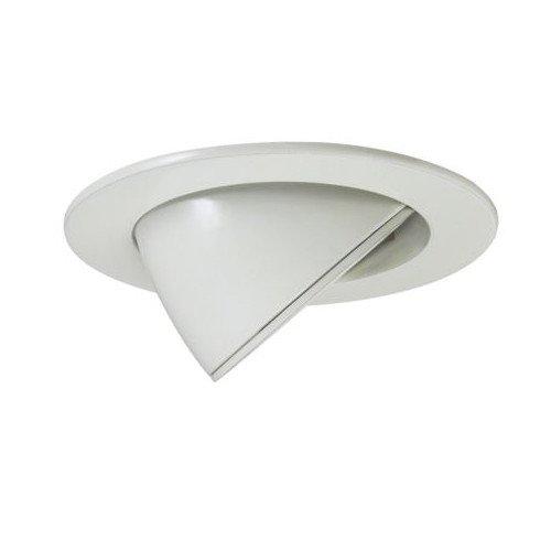 LED Einbaurahmen weiss, schwenkbar