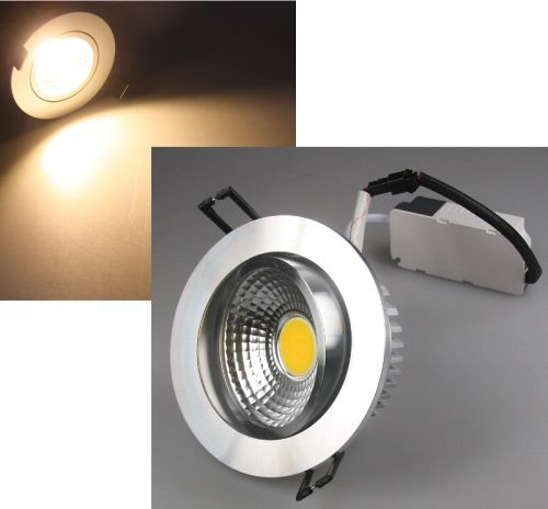 7W LED Einbaustrahler schwenkbar