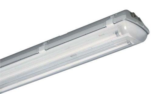 Feuchtraumleuchte Doppelleuchte 2x 150cm LED Röhre