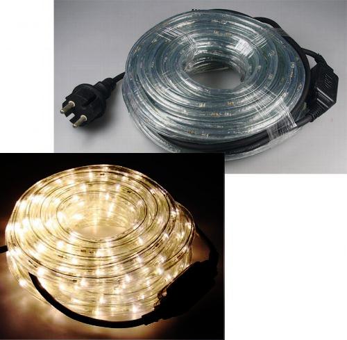 10m LED Lichtschlauch warmweiss