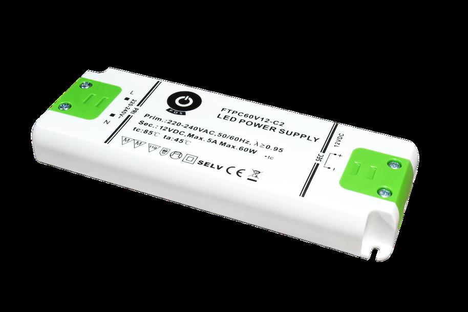 Trafo 60 Watt DC auch für Möbeleinbau
