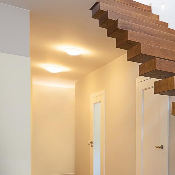 LED Deckenleuchte / Wandleuchte mit Bewegungssensor