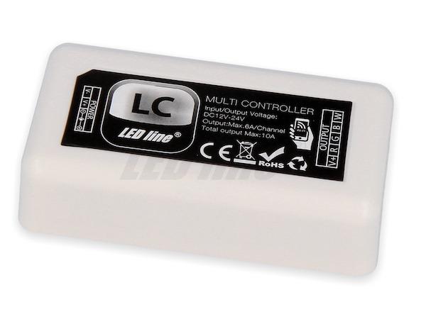 LED Multi Controller / Dimmer 10A 12V - 24V DC