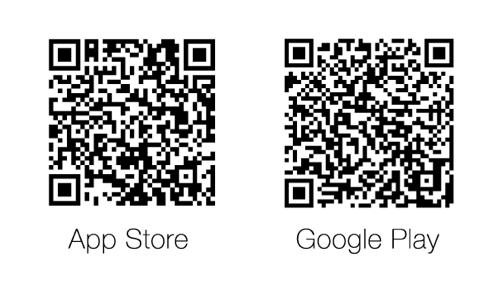 Zum Herunterladen im App Store und Google Play