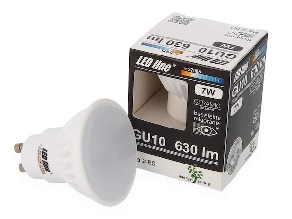 LED GU10 SMD 630 Lumen warmweiß