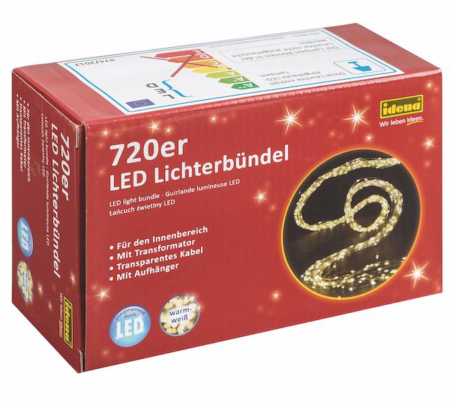 7m LED Lichterkette warmweiss