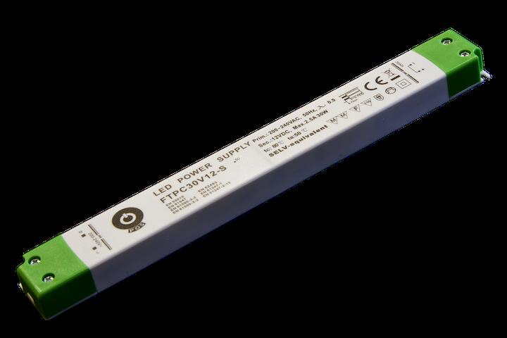 30W LED Trafo 12V DC SLIM für Möbeleinbau