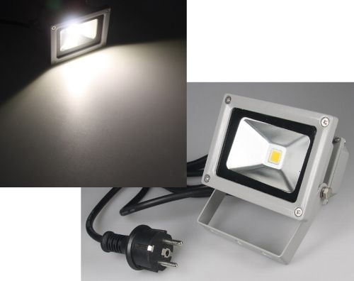10W LED Fluter 4200K daylight