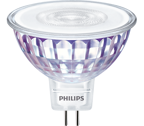 Philips Master MR16 5,5W = 35W 450Lumen 2700K