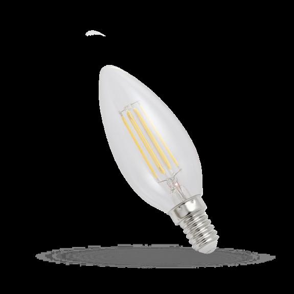 E14 LED Kerze Filament 4W = 40W 450 Lumen