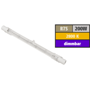 Dimmbare R7s LED 118mm