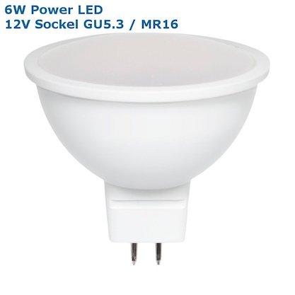 6W LED Leuchtmittel 12V MR16 / GU5.3
