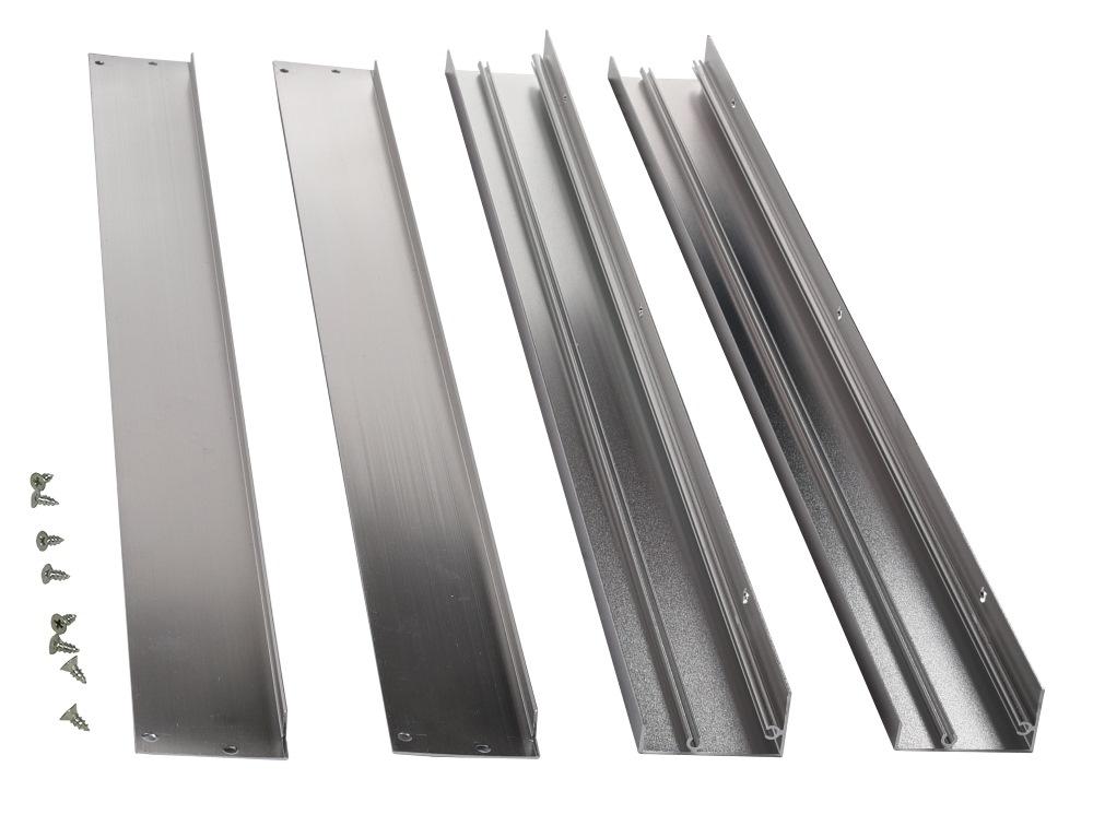 Aufbaurahmen für LED Panel silber