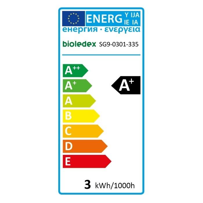 Bioledex G9 LED warmweiss