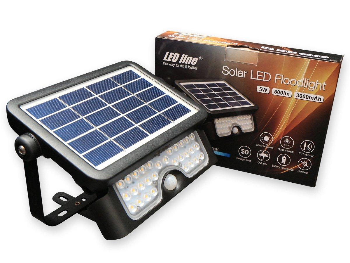 Solar LED Fluter Solarzelle und Bewegungssensor