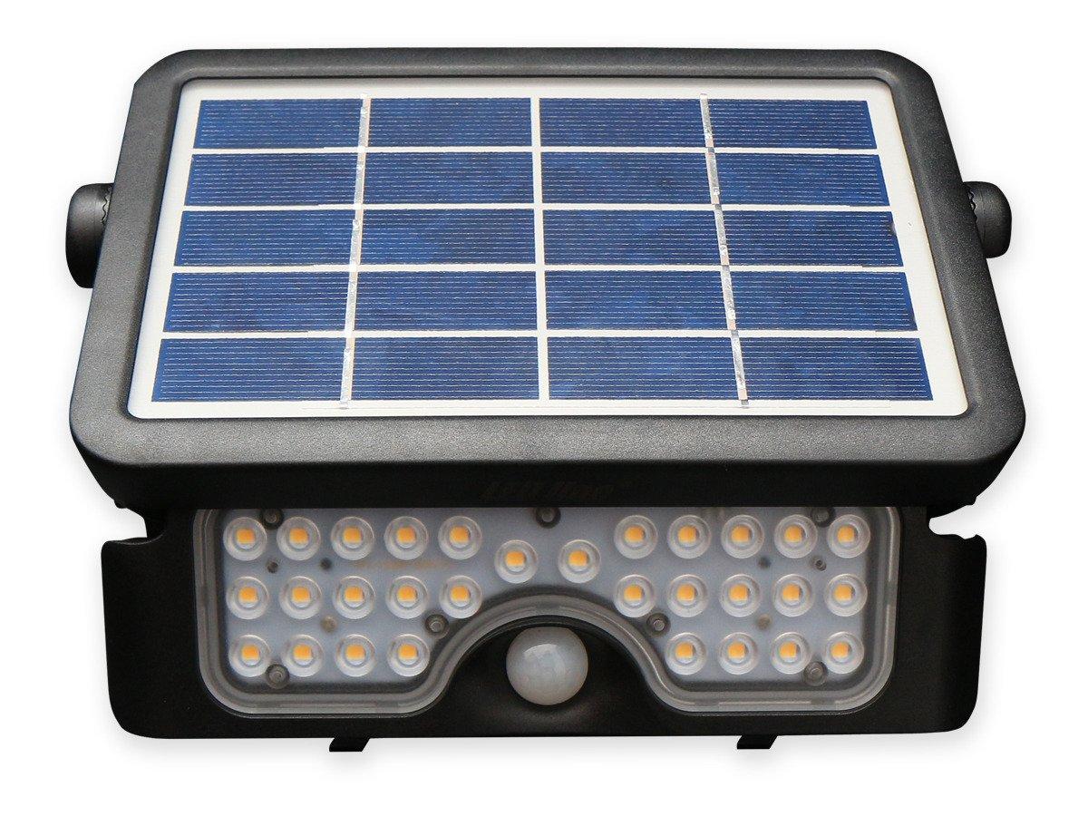 Bewegungssensor PIR Solar LED Strahler