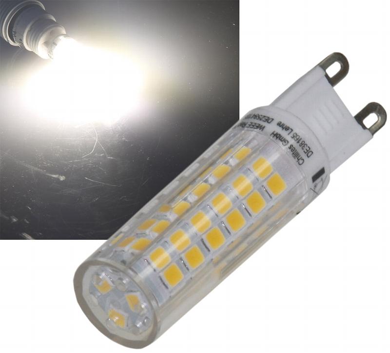 Helle G9 LED mit 6W daylight 4200K