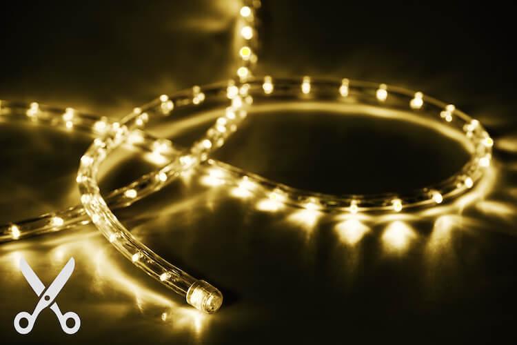 Lichtschlauch 50m warmweiss in Wunschlänge