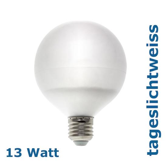 13W Globe LED E27 dayllight tageslichtweiss