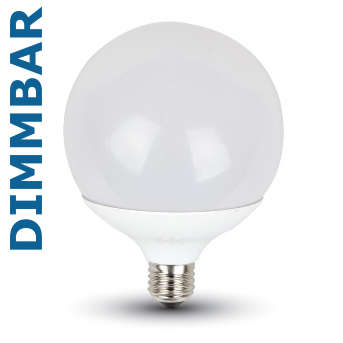 13W G120 Globe LED dimmbar