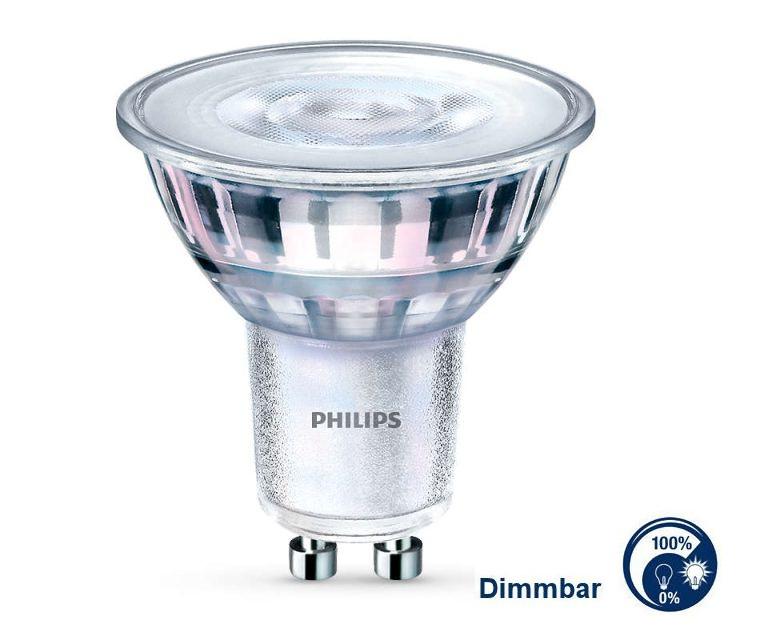 GU10 LED dimmbar 5W = 50W neutralweiß