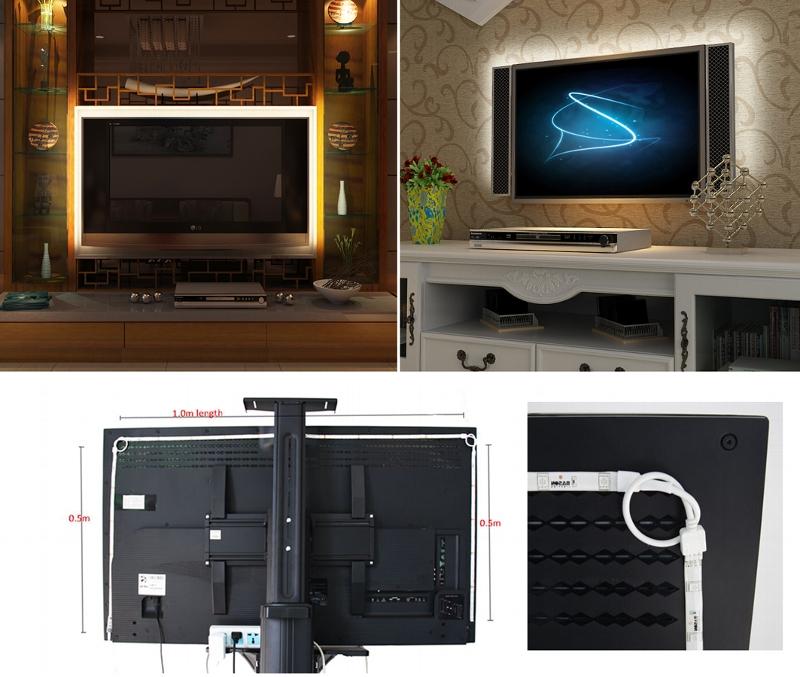 TV RGB LED Backlight mit Fernbedienung