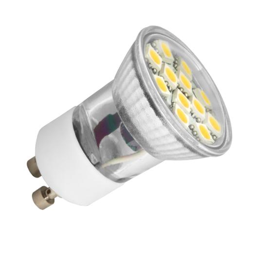 LED Leuchtmittel GU10 230V 12SMD Lichtfarbe tageslichtweiss