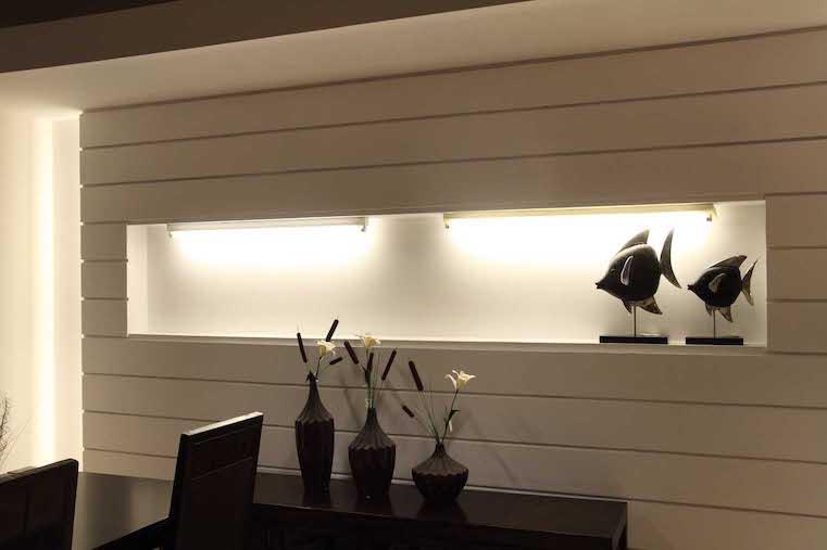 Doppelhalterung für 2x 60cm 600mm LED Röhren