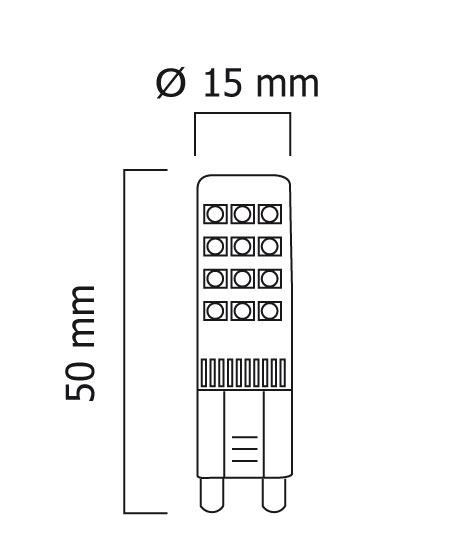 kleine G9 LED warmweiss, neutralweiss, tageslichtweiss