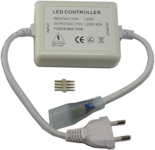 LED RGB Streifen 230V Netzteil