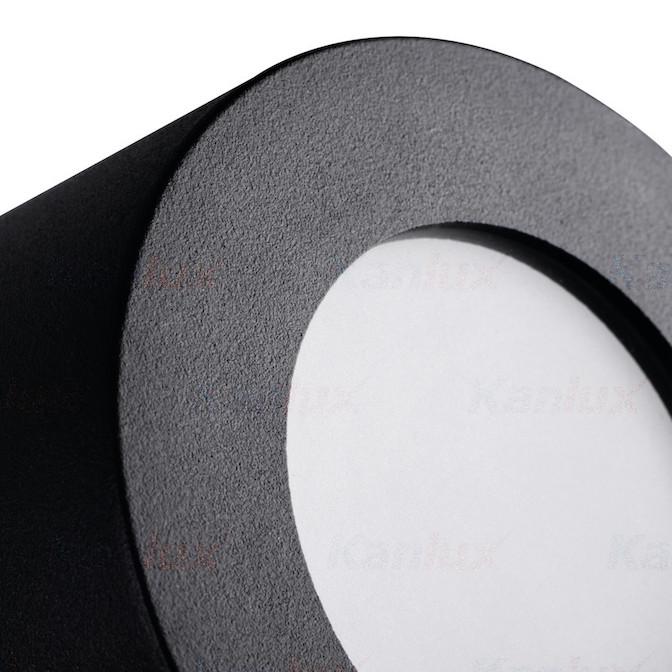 Deckenleuchte schwarz LED GU10
