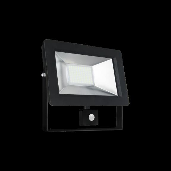 30W LED Fluter Strahler neutralweiss IP44 mit Bewegungsmelder