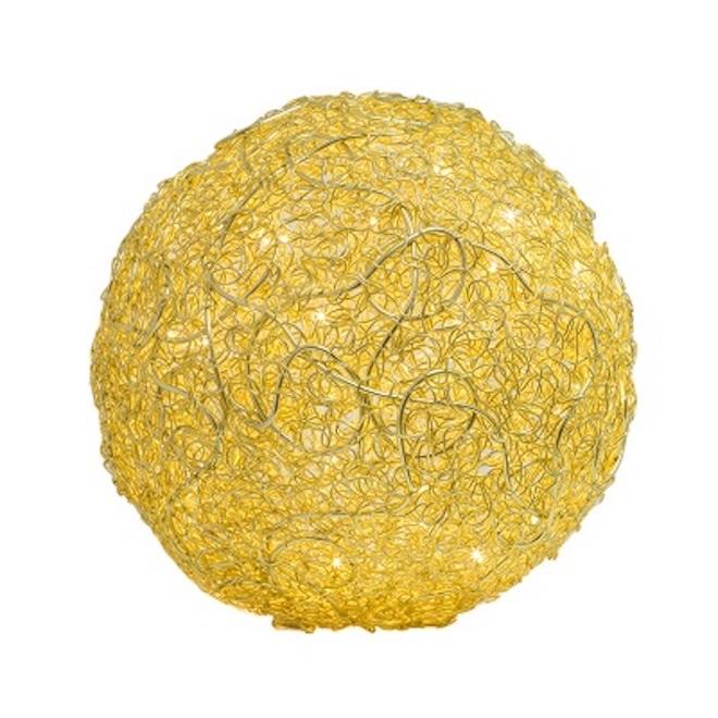 LED Kugelleuchte Ø30cm gold - Made in Germany -
