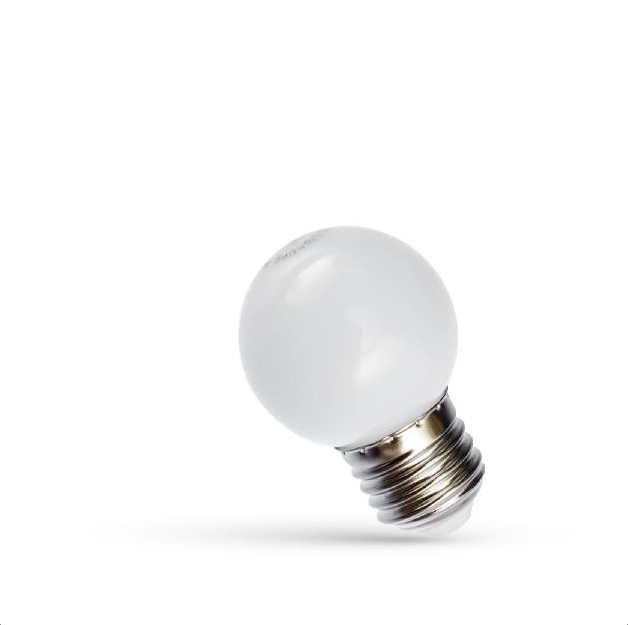 1W LED Birne E27 weiss