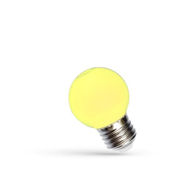 1W LED Birne E27 gelb