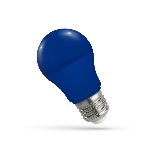 LED Leuchtmitte E27 5W blau