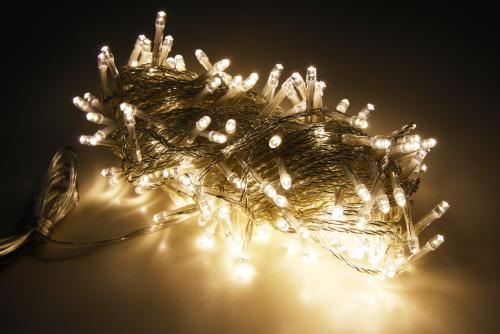 LED Lichterkette warmweiss 20 Meter 200LEDs warmweiss