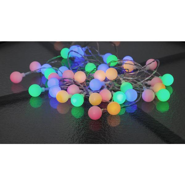 LED Lichterkette Innen & Aussen 50 Leuchtmittel