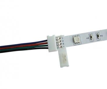 Schnellverbinder für RGB LED Stripes mit einem Schnellverschluss