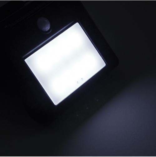 LED Solar Wandleuchte kaltweiss / tageslichtweiss