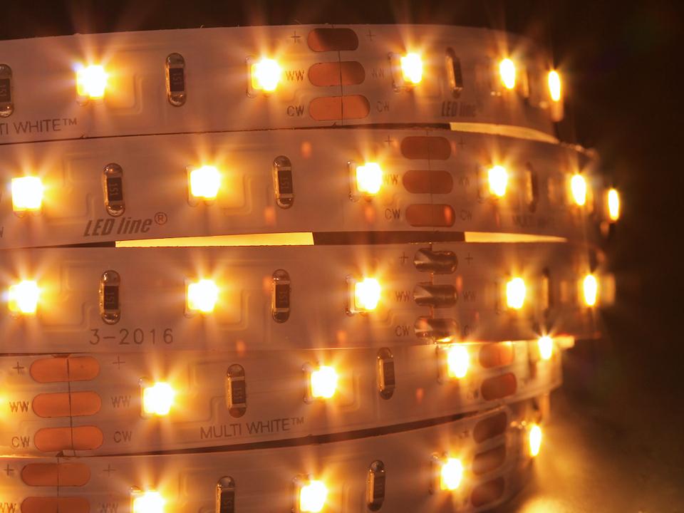 LED Streifen 5m warmweiß, neutralweiß bis tageslichtweiß