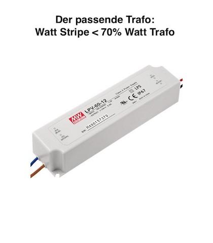 Passenden LED Trafo DC auswählen