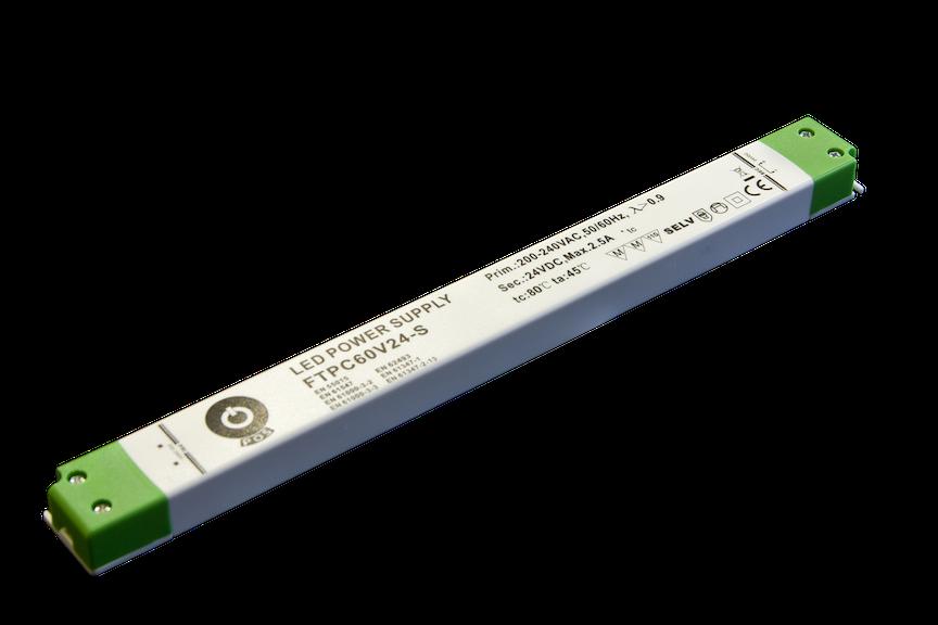 60W LED Trafo 12V DC SLIM für Möbeleinbau