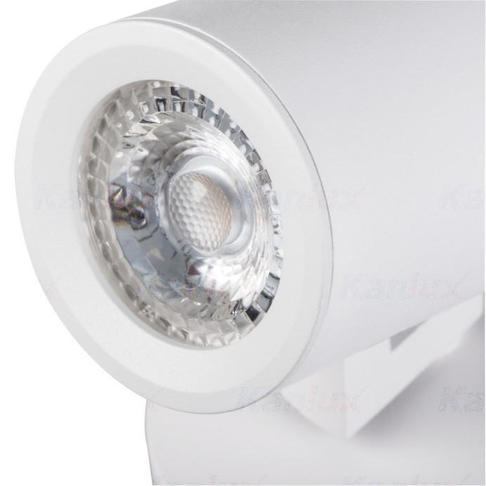 Deckenleuchte LED GU10 weiß mit Richtungseinstellung