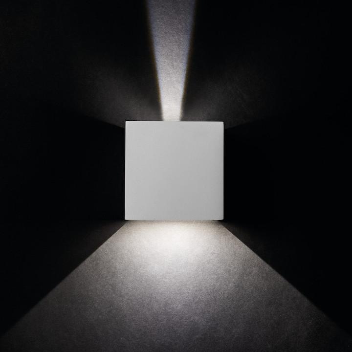 Einzigartige Lichteffekte LED Außenleuchte 7W 4000K