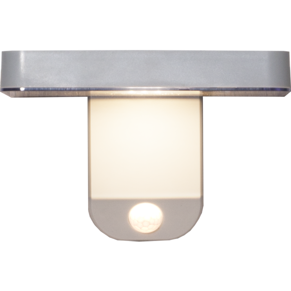 Solar LED Wandleuchte mit Bewegungsmelder