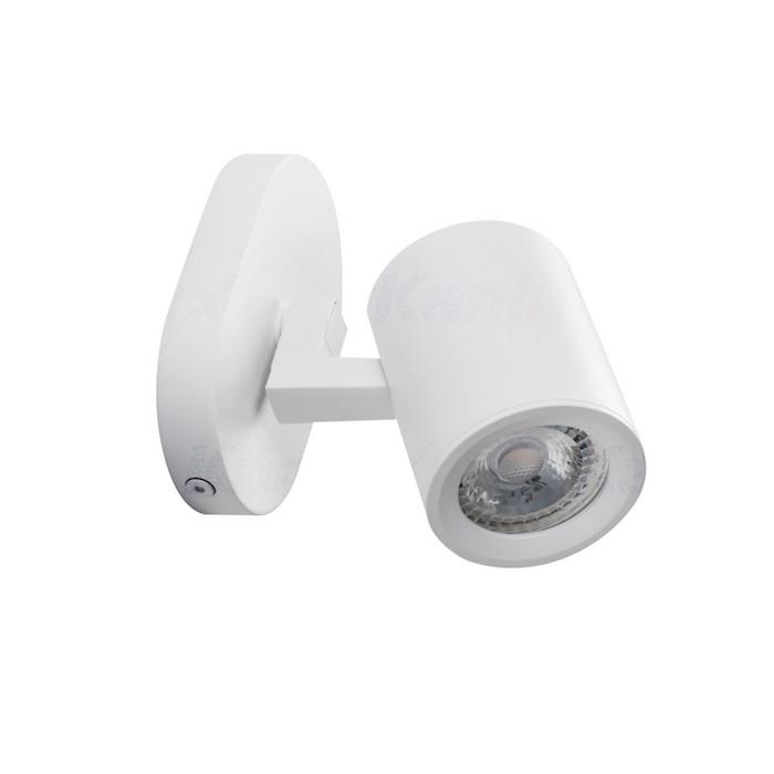 LED Deckenleuchte weiß einflammig GU10